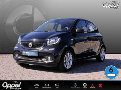 gebraucht Smart ForFour 66 kW turbo Pano-Dach+LED+BC+Tempom+PTS+