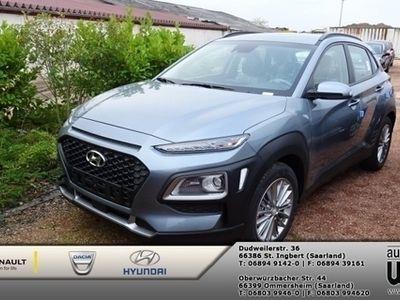 gebraucht Hyundai Kona 1.6 T-GDI 2WD DCT Trend+LED+NAVI+Komfort