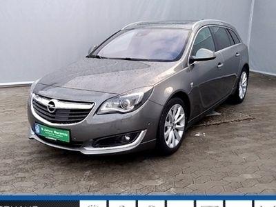 gebraucht Opel Insignia A ST Business Innovation 2.0CDTI EU6 OPC Navi Xenon Leder+Sitzheizung Bluetooth