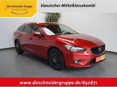 gebraucht Mazda 6 2.2 CD SKYACTIV-D Sports-Line EURO6 XEN NAVI