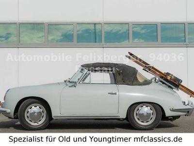 gebraucht Porsche 356 C 1600 Reuter Cabrio 1.Vorbesitzer Matching