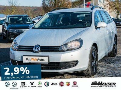 gebraucht VW Golf VI Variant 2.0 TDI DSG COMFORTLINE NAVI Klima