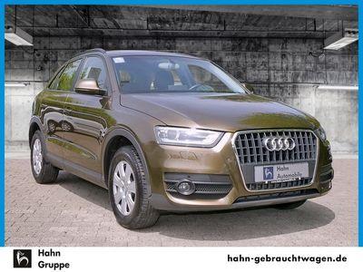 gebraucht Audi Q3 2.0TDI Navi AHK Xen Climatr PDC Tempo Sitzh