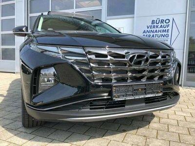 "gebraucht Hyundai Tucson 1.6 T-GDI MHEV DCT 4WD PANO 360° LED 19"""
