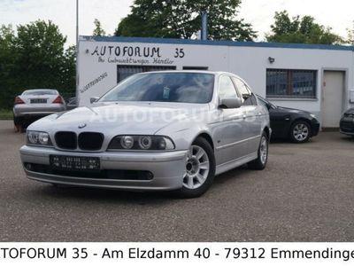 gebraucht BMW 520 i lim/PDC/SHZG/LEDER/NAVI/TÜV/07 2021