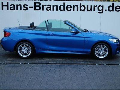 gebraucht BMW 218 d Cabrio M-SPORTPAKET INNOPAKET NAVI PROF