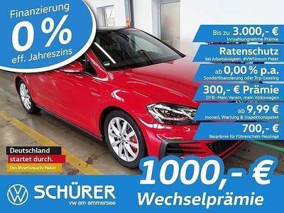 gebraucht VW Golf I Golf 7 GTI Performance DSG LED°Pano°StdHzg°Leder°Navi°RKam°ACC°Keyless°Totwinkel