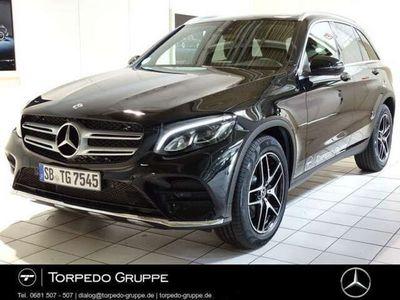 gebraucht Mercedes GLC250 4M AMG Navi+LED+PANO+KAMERA+KEYLESS+PTS+