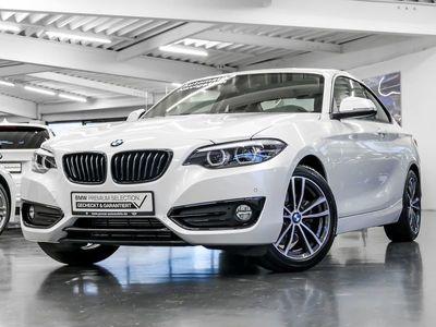 gebraucht BMW 220 2er d Coupe Sport Line