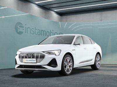 gebraucht Audi E-Tron eTronSportback S line 50 quattro Pano/B&O/Matr