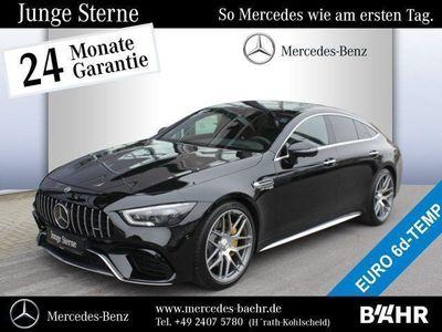 gebraucht Mercedes AMG GT Mercedes- 63 S 4MATIC+ Serienausstattung SHD/Klima