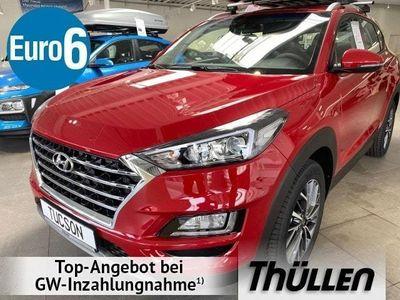 "gebraucht Hyundai Tucson Advantage 1.6 T-Benzin DCT Navi Kamera 18"""