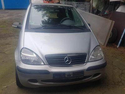 gebraucht Mercedes A140 Classic klima ahk 8x bereift
