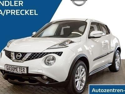 gebraucht Nissan Juke Acenta 1.2 DIG-T / Schiebedach / WKR / Klima / USB / Bluetooth