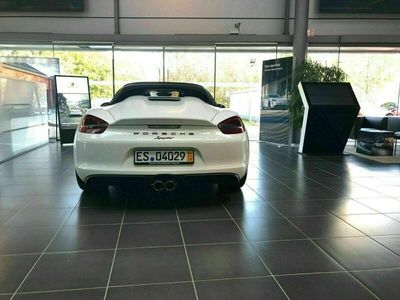 gebraucht Porsche Boxster Spyder 981approved