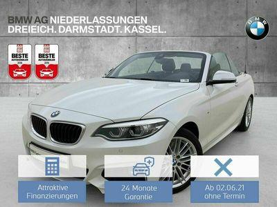 gebraucht BMW 230 i Cabrio Sportpaket HK HiFi DAB LED RFK RTTI