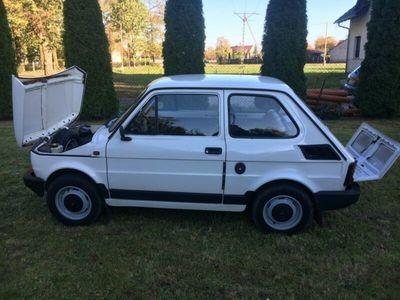 gebraucht Fiat 126 mit nur 40000 km. Sehr gepflegt. Siehe Fotos