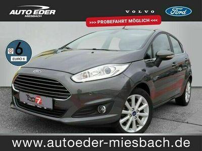gebraucht Ford Fiesta 1.0 Titanium StartStopp EURO 6 Klima Einparkhilfe