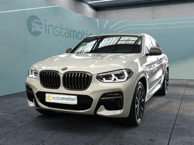 gebraucht BMW X4 X4 M40M40i PANO+LEDER+NAVI+AHK+MEM+HUD+LED+KURVENLI