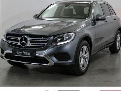 gebraucht Mercedes GLC350 d 4M Exclusive AHK Air-Body-C. Standhzg.