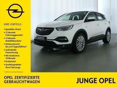 gebraucht Opel Grandland X 1.2 Turbo Voll-LED Leder Panoramadach 4xSHZ