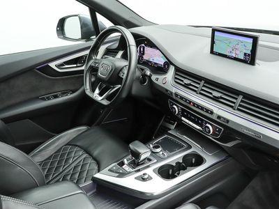 gebraucht Audi SQ7 4.0 TDi q. AHK LED Pano DAB Leder Standhzg