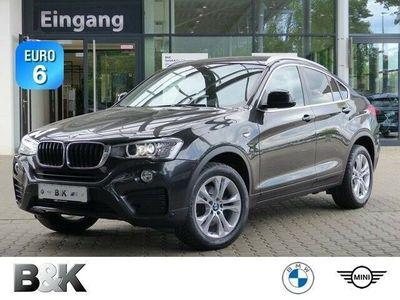 gebraucht BMW X4 xDrive20dA Navi Hifi Xenon Sportsitze Kamera