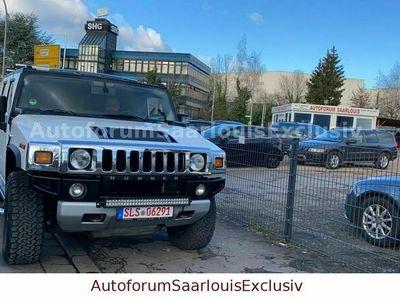 gebraucht Hummer H2 6.2 V8 Luxury 398 PS/Kamera/Scheckehft/ als SUV/Geländewagen/Pickup in Saarlouis-Fraulautern