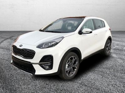 gebraucht Kia Sportage 1.6 T-GDI GT Line 4WD DCT7 LED PANO WEISS