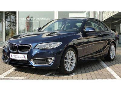 gebraucht BMW 220 d Coupe´ Luxury Line Aut., Navi, Leder, Xenon