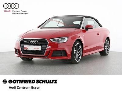 gebraucht Audi A3 Cabriolet quattro sport S-LINE S-TRONIC NAV SHZ PDC VO HI FSE MUFU S TRONIC