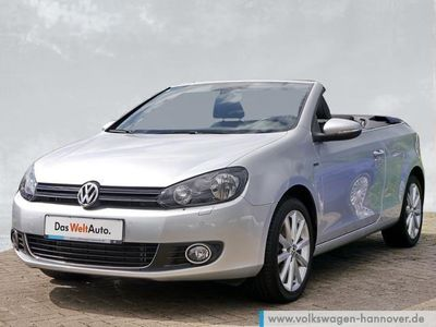 gebraucht VW Golf Cabriolet VI 1.6 TDI Lounge AHK Navi