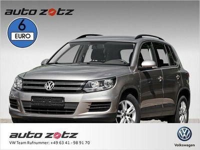 gebraucht VW Tiguan Trend + Fun 2.0 TDI Navi Bluetooth Klima