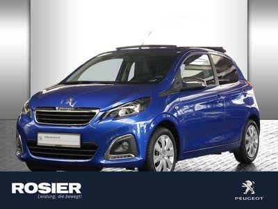 gebraucht Peugeot 108 1.0 VTi TOP 5 Türer Style Kamera SHZ Klima K