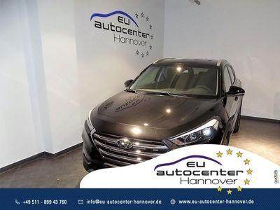 gebraucht Hyundai Tucson 1.6 T-Gdi 177PS 4WD Automatik Style Navi