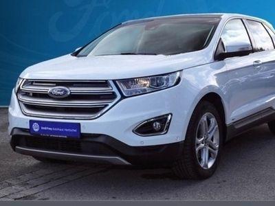 gebraucht Ford Edge 2.0 TDCi Bi-Turbo AT 4x4 Titanium Panoramadac
