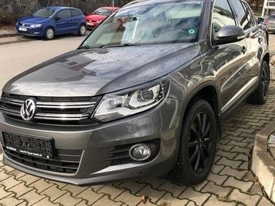 gebraucht VW Tiguan LOUNGE 2.0TDI DSG 4M EU6 Xen°Navi°AHK°Kam°Keyless°Lane-Assist°Verkehrszeichenerkennung
