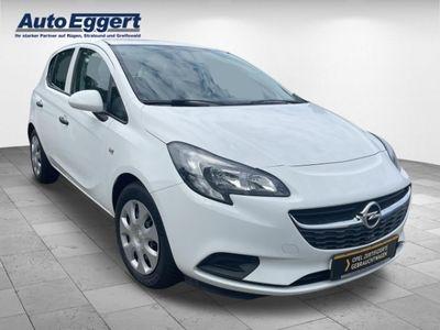 gebraucht Opel Corsa E Selection 1.2 RDC Klima CD AUX USB ESP Seitenairb. Gar. Radio TRC Airb ABS Servo