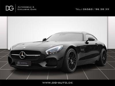 """gebraucht Mercedes AMG GT Coupe Navi PDC 20"""" 1Hand schwaz/schwarz"""