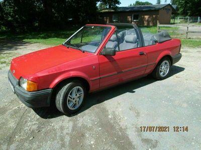 gebraucht Ford Escort Cabriolet 1,6 Ghia