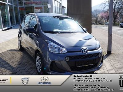 gebraucht Hyundai i10 Select+ Plus Paket Klimaanlage+Funk-ZV
