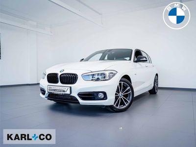 gebraucht BMW 120 d Edition Sport Navi LED PDC hi Freisprech Tempo