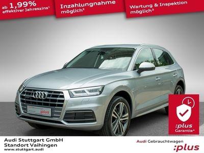 gebraucht Audi Q5 2.0 TDI sport quattro s-tronic Navi Teilleder