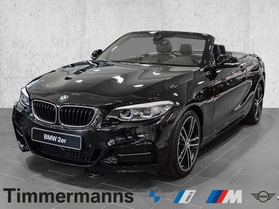 gebraucht BMW M240 xDrive Steptronic Cabrio Navi Leder Bluetooth PDC MP3 Schn.