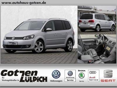 gebraucht VW Touran Highline 2.0 TDI Leder Xenon Navi
