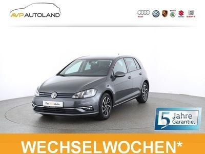 gebraucht VW Golf VII JOIN VII 1.5 TSI BMT | NAVI SITZH. schwarz