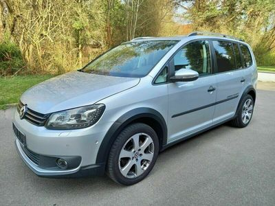 gebraucht VW Touran Cross Touran 2.0 TDI DSG CRLeder/Navi/LED
