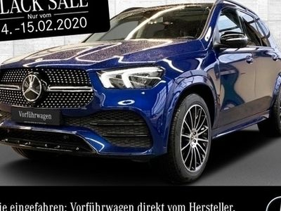 gebraucht Mercedes GLE350 d 4M AMG WideScreen Pano Burmester LED PTS
