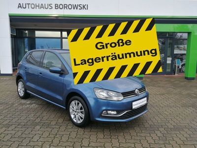 gebraucht VW Polo Comfortline 75PS *Sitzheizung+Climatr+PDC*