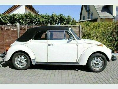 gebraucht VW Käfer Cabriolet weiß ...